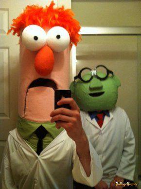 Beaker and Dr. Bunsen