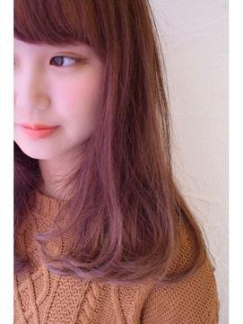 ピンクアッシュで美肌に見える!可愛い髪色画像♡ヘアカラーカタログ【2018】 - NAVER まとめ