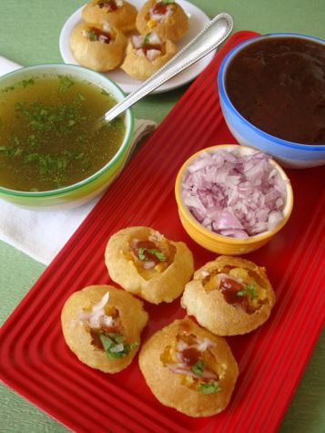 I WILL learn to make my own puris for Pani Puri!