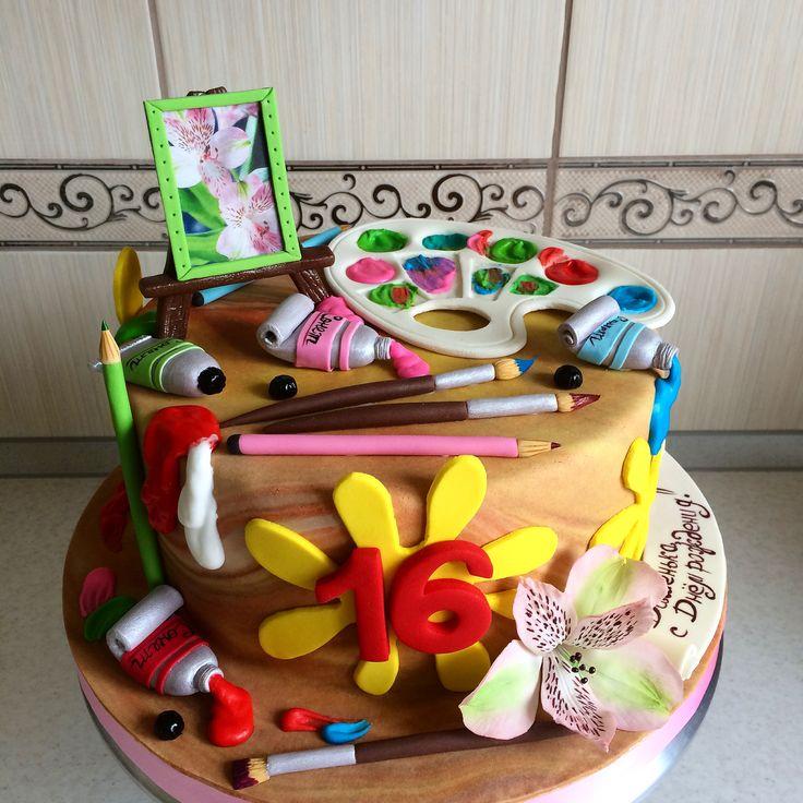 покровского монастыря торт палитра с красками фото поставить петли под