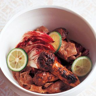 牛肉と焼き松茸 すだちドレッシング和え レシピ