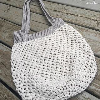 Market Tote Bag pattern by Rebecca Langford