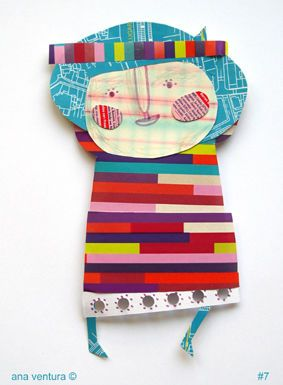 I'm a scrap of paper collector #7 by ana ventura, via Flickr