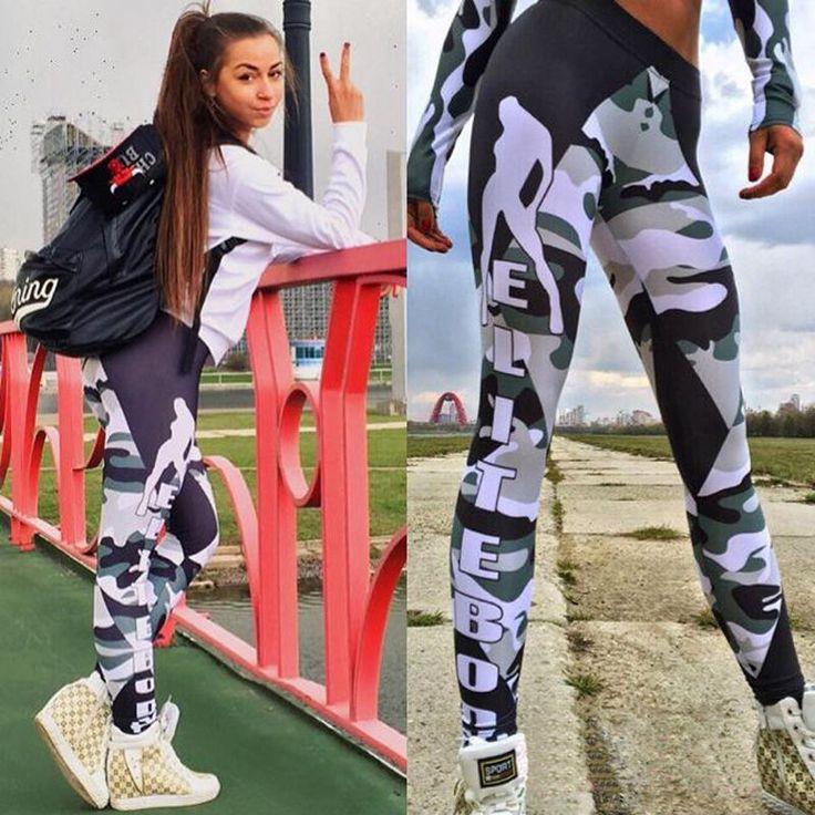 Carta De Camuflagem calças femininas leggings Fitness Sports Para Treinamento De Corrida Academia Yoga | Roupas, calçados e acessórios, Roupas femininas, Meias-calças, leggings | eBay!