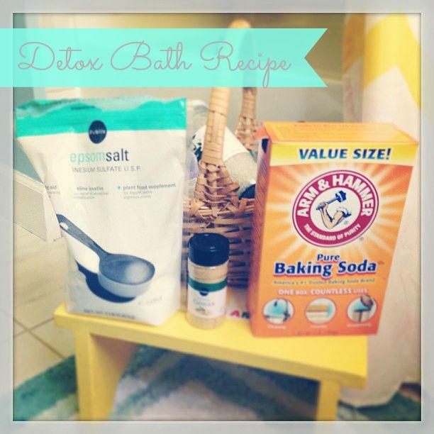 Get Rid of Toxins: Homemade Natural Detox Bath Recipe - Jolly Mom