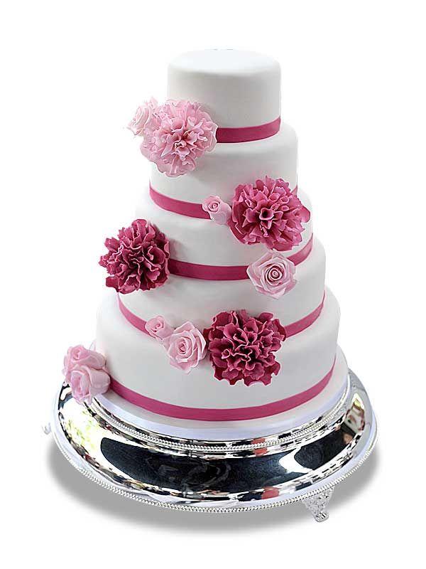 PuurTaart :: Taartengalerij - Bruidstaart - Wedding cake Missis Wonderful
