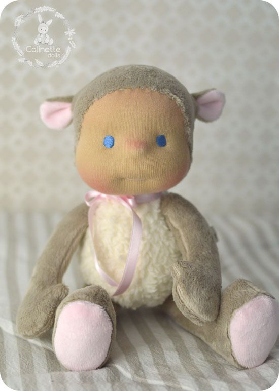 Anaelle 30cm - Poupée Waldorf *Sur Commande* : Jeux, jouets par calinette-ma-poupette