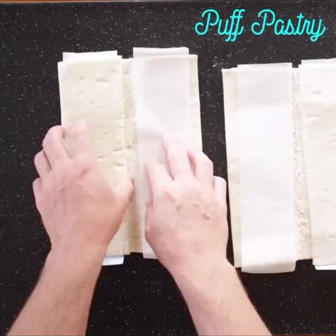 "Watch Cooking Panda's Vine ""Easy Strawberry strudels  #CookingPanda"""