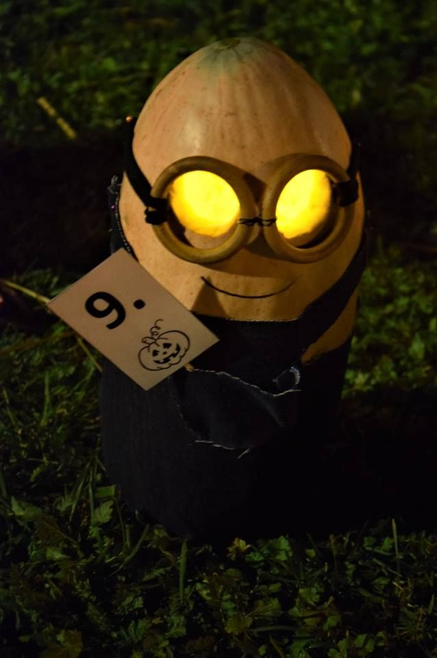 minion pumpkin lantern