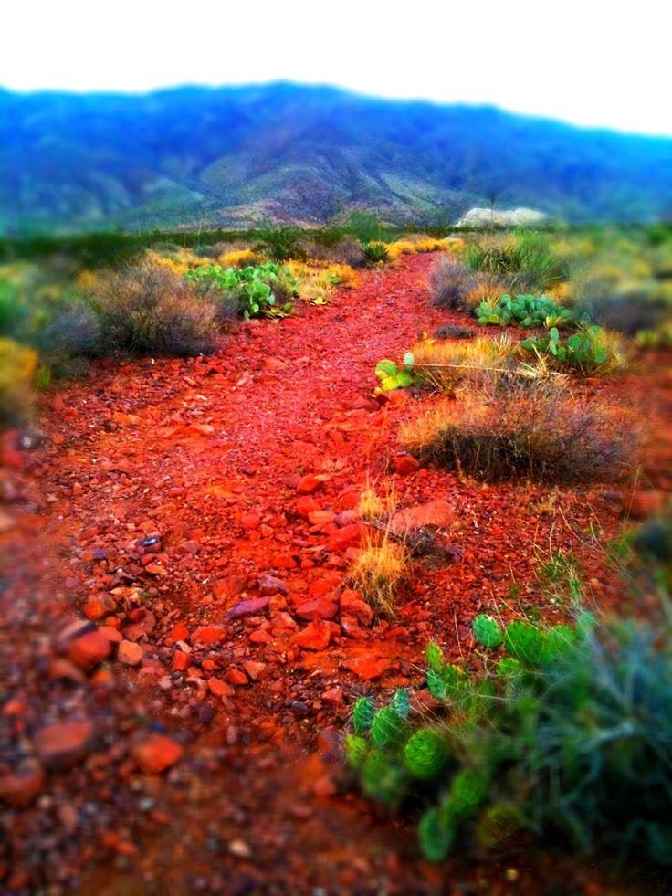 Red Rock Trail, El Paso, Texas
