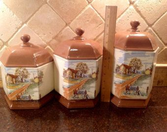 Kitchen Canisters U2013 Etsy