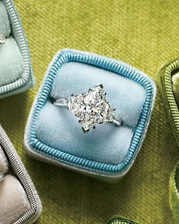 Marquise-Cut Diamond Engagement Ring - Click image to find more Weddings Pinterest pins
