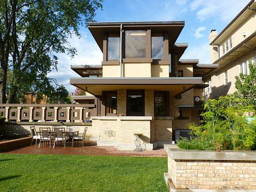residence chicago illinois 1915 prairie style frank lloyd wright