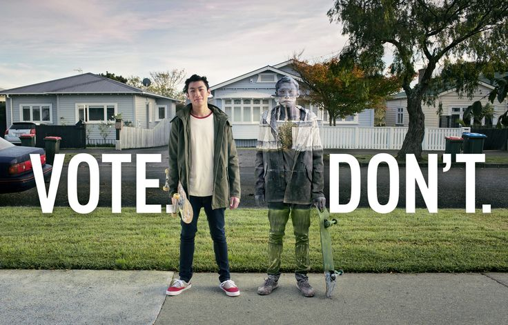 Auckland advertising photographerSpidwas recently approached by Ogilvy's  Darran WongKam to produce a memorable campaign for the upcomingAuckland  Councillocal body elections. The basic concept centres around the idea  that people who don't vote are metaphorically invisible, because their  v
