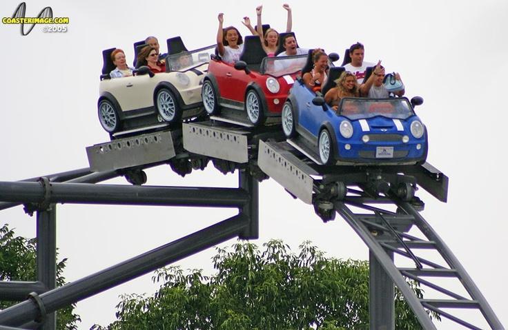 Backlot Stunt Coaster @ Kings Island (Mason, OH)