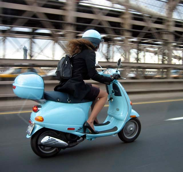 Yes please!! blue Vespa and holidays in France****