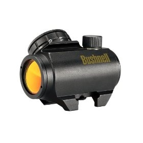 #7: Bushnell Trophy TRS-25 1xRed Dot Sight Riflescope