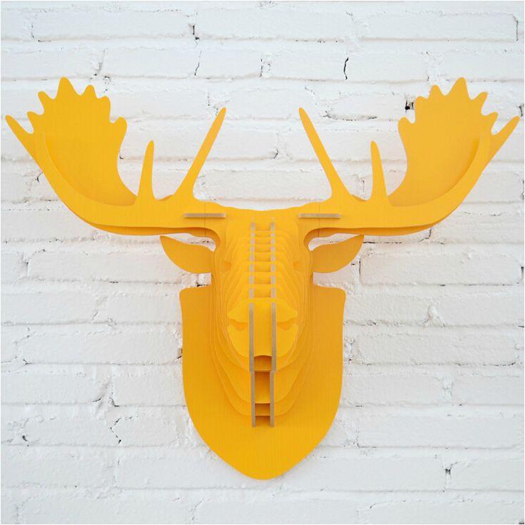 Оленей глава орнамент, декор стены, деревянные стены завесы, DIY ремесла, деревянные лося голова оленя, МДФ объектов, головой животного рождественский декор