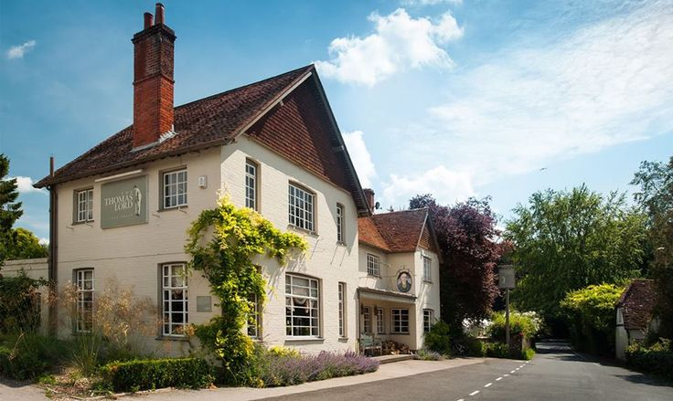 The Thomas Lord ~ A beautifully restored traditional village pub, nestled in the picturesque village of West Meon. It offers an excellent range of real ales and a menu full of mouth-watering meals, seven days a week.