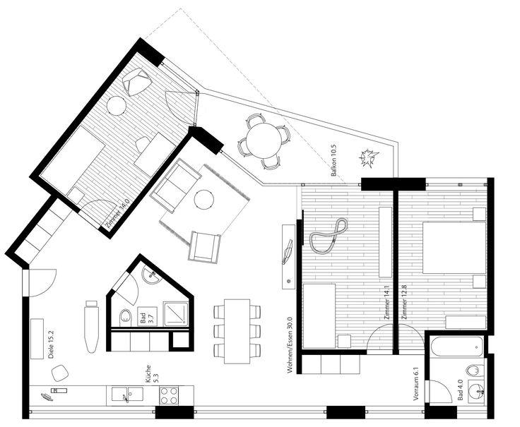 284 best floor plans images on Pinterest   Floor plans ...