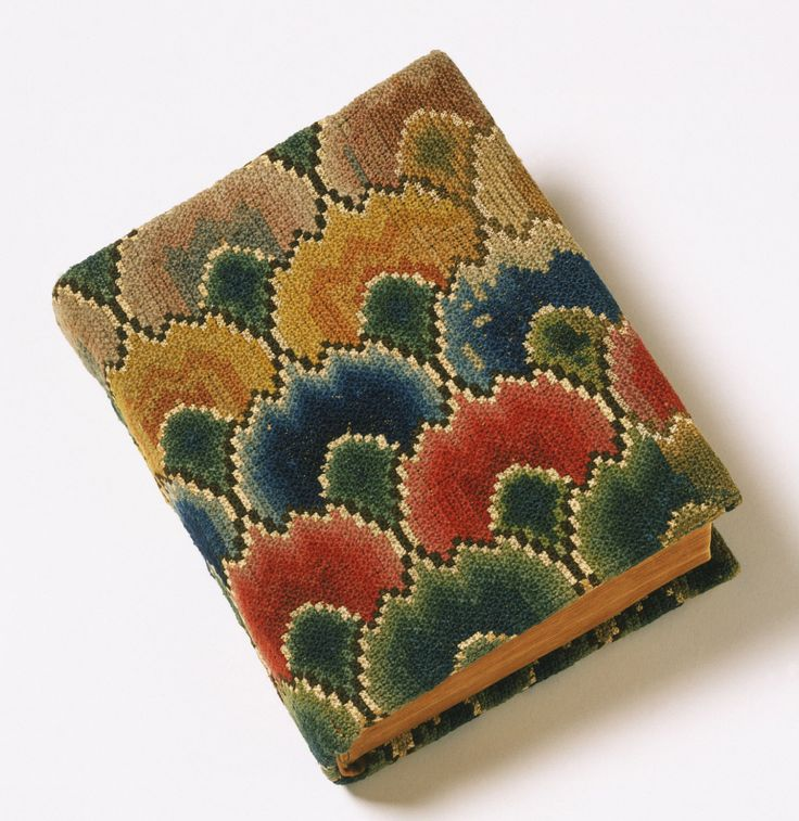 Bible with Needlework Cover, New York, c. 1814