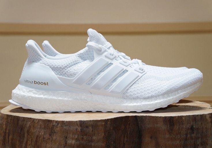 adidas ultra boost triple white finish line restock