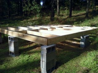 17 best images about camping platforms on pinterest for Tent platform construction
