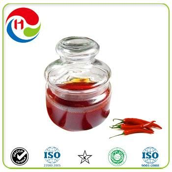 Capsicum Oleoresin 40% Extraction Method CO2 Oleoresin of Capsicum or Capsicum Oil or Liquid Capsaicin Extract