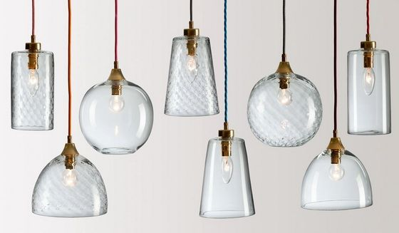 rothschild and bickers pick n mix pendant glass lights clear
