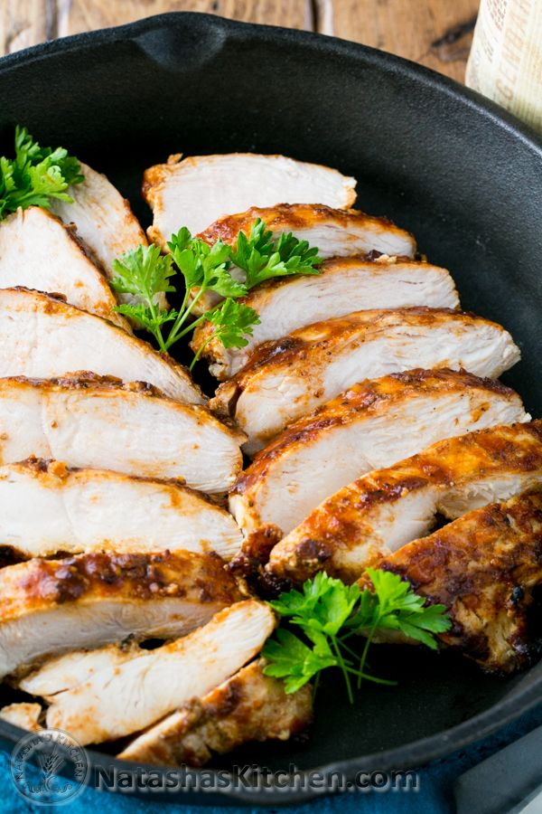 This is the Juiciest Barbecued Chicken Breast (my sister's famous recipe and a family favorite!) @natashaskitchen