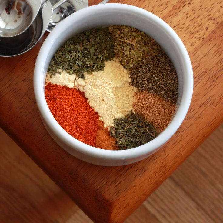 A great recipe for homemade Greek Seasoning. Use it in any recipe calling for Greek seasoning or as a delicious all-purpose blend. Veganize