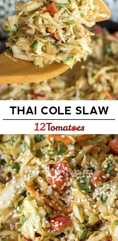 Thai Peanut Coleslaw