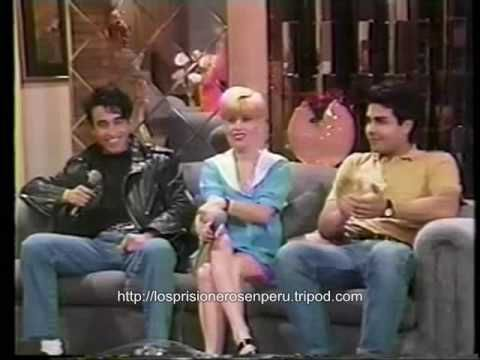 LOS PRISIONEROS Robert rodriguez - Programa ALO GISELA Panamericana TV (Nov 1991). Jorge critized the USA
