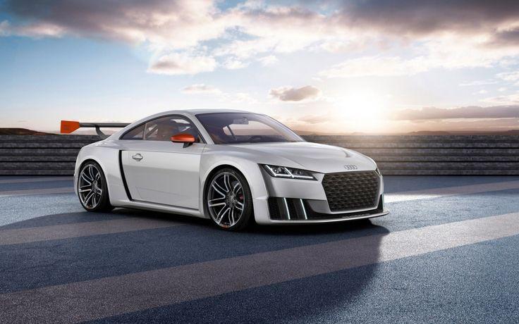 Audi tt clubsport turbo concept hd wallpaper
