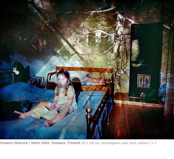 © marja pirilä  Camera obscura/ Helmi 2002, Tampere, Finland
