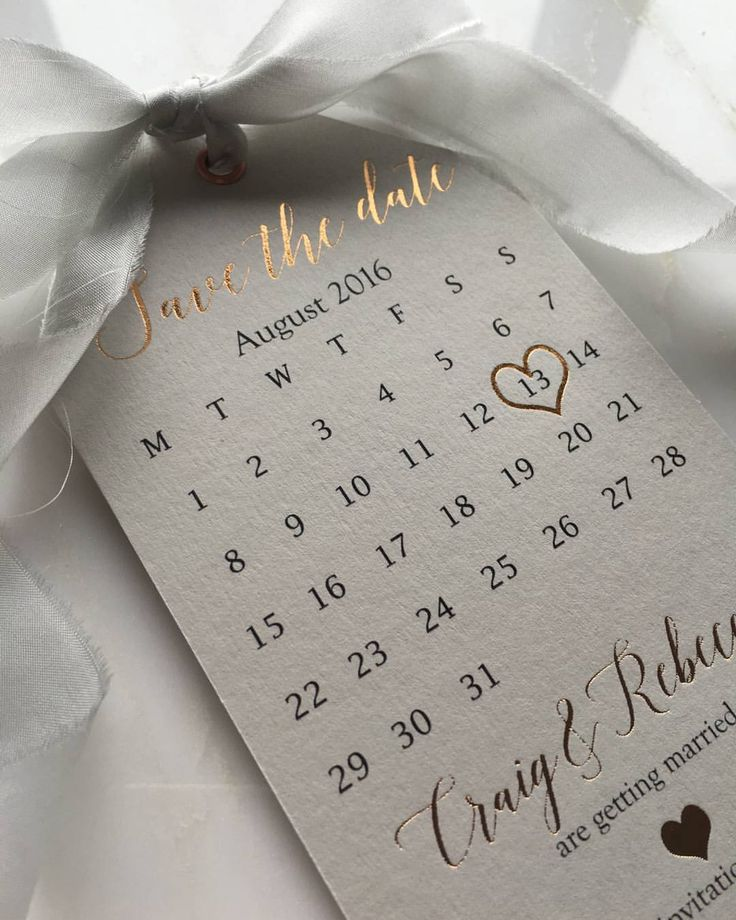 "1,436 Likes, 77 Comments - @down.the.aisle on Instagram: ""Obsessed with these Rose Gold Save the Date Tags by @SilkBeau  #savethedate #savethedates…"""