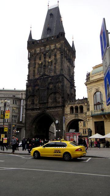 Praha - Prague - The powder tower