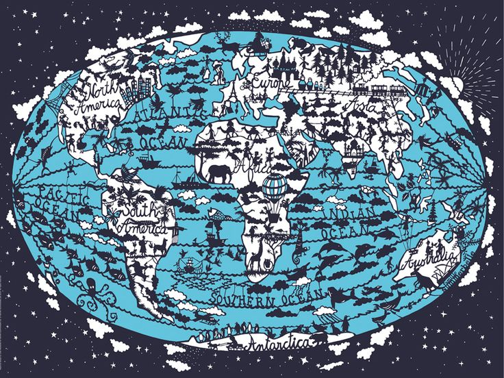 FAMILLE SUMMERBELLE - WORLD MAP