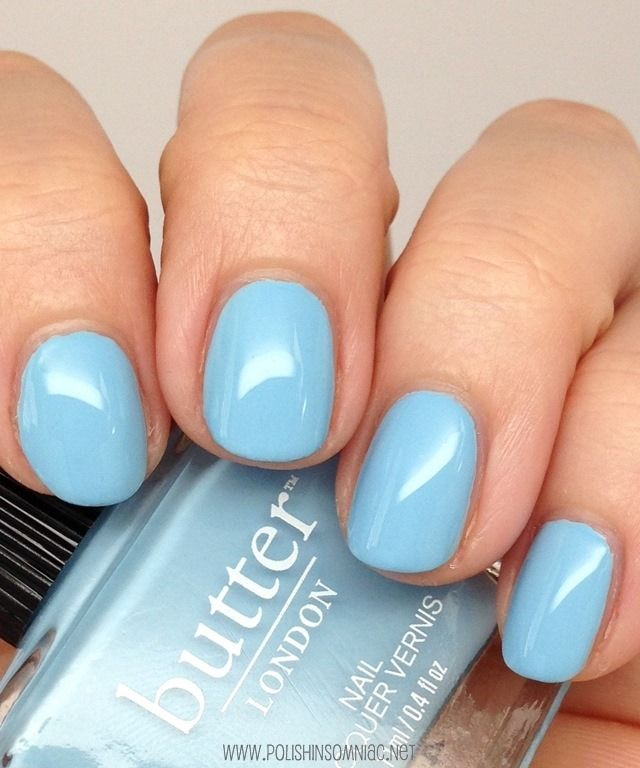 39 best Blue Nail Polish images on Pinterest | Blue nail, Blue nail ...