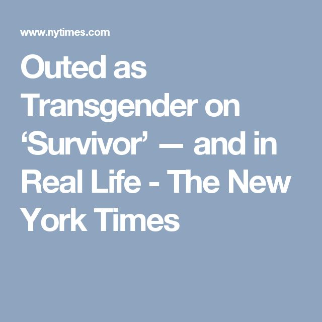 New york times transgender-9995