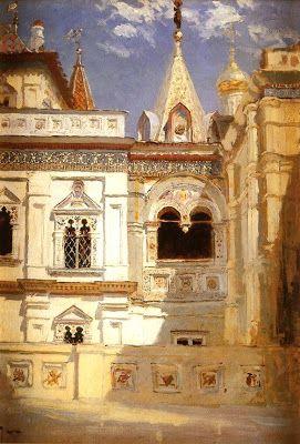 Vasily Polenov (1844-1927), the Great Russian Artist ~ Blog of an Art Admirer