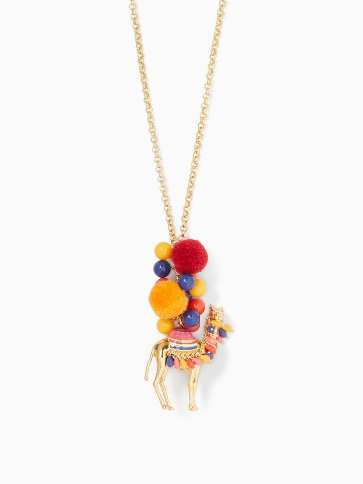 KATE SPADE Spice Things Up Camel Pendant. #katespade #all
