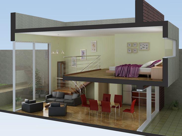 278 melhores imagens de dise o mini apartamentos no for Disenos de apartamentos pequenos