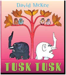 Tusk Tusk by David McKee published by Andersen Press Ltd. Narrated for Me Books by Mike Wozniak.