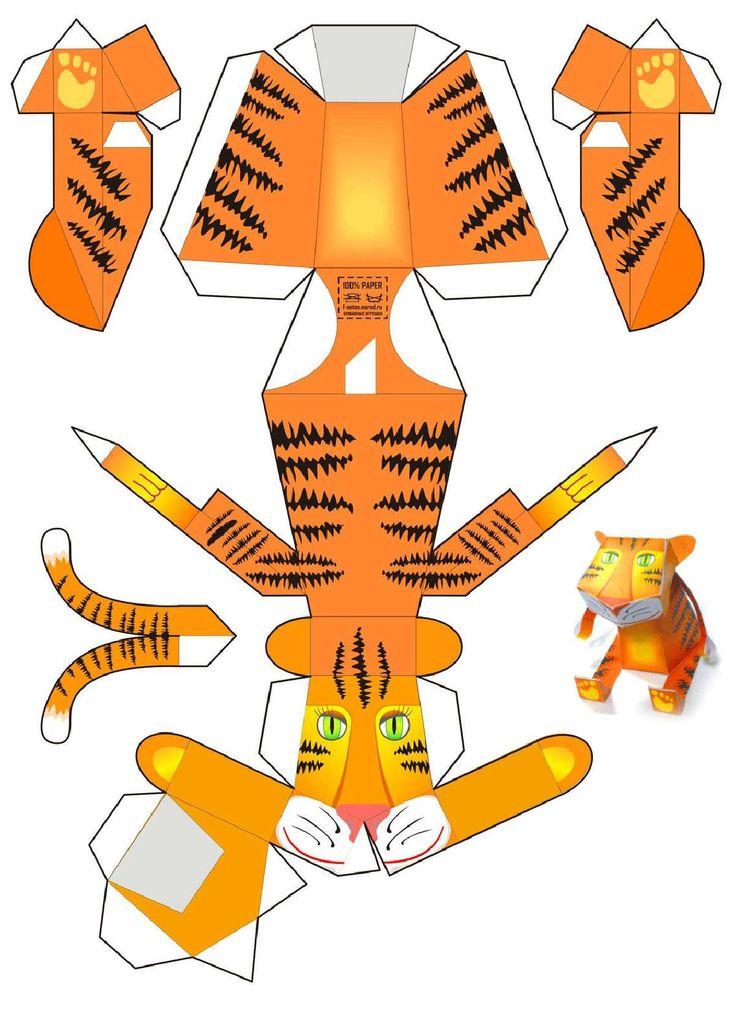 картинки бумажных игрушек случаем энколпиона