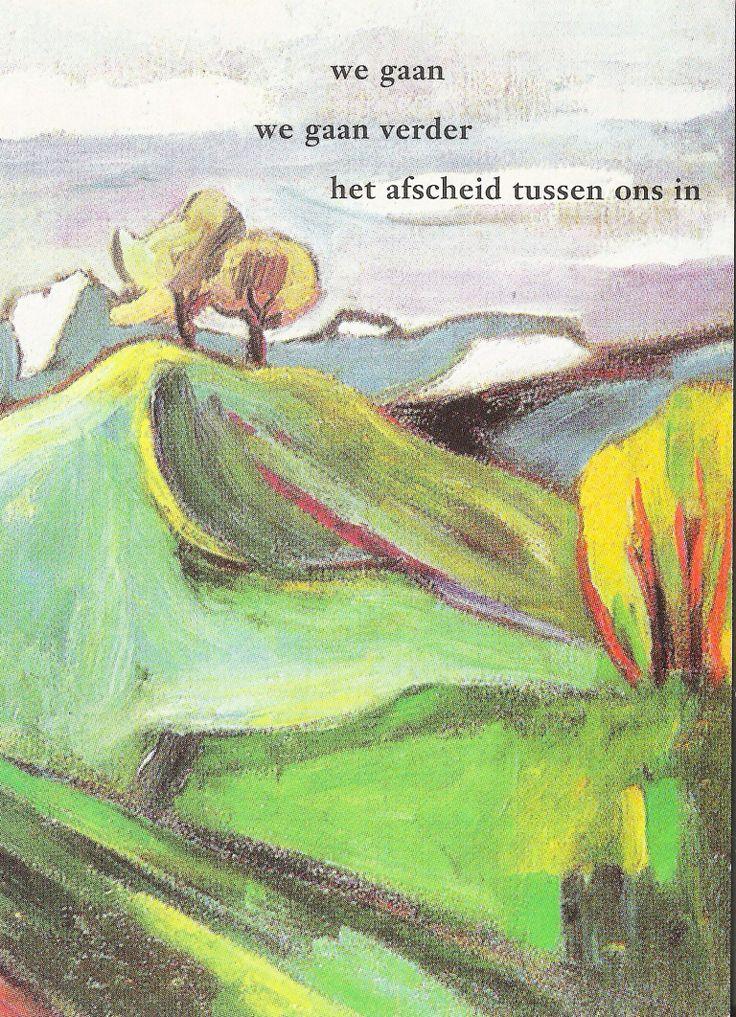 Gedicht: Willem Hussem. Beeld: Helmuth Macke.