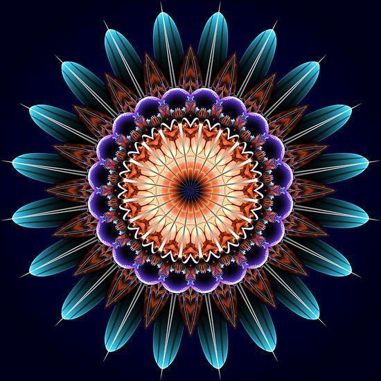 Kaleidoscope art  curated by: http://www.jayaprime.com