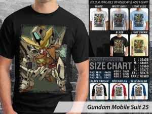 Kaos Robot Gundam Character, Kaos Robot Gundam Wing, Kaos Robot Gundam Bandai Entertainment, Kaos Gundam Comic Con Japan
