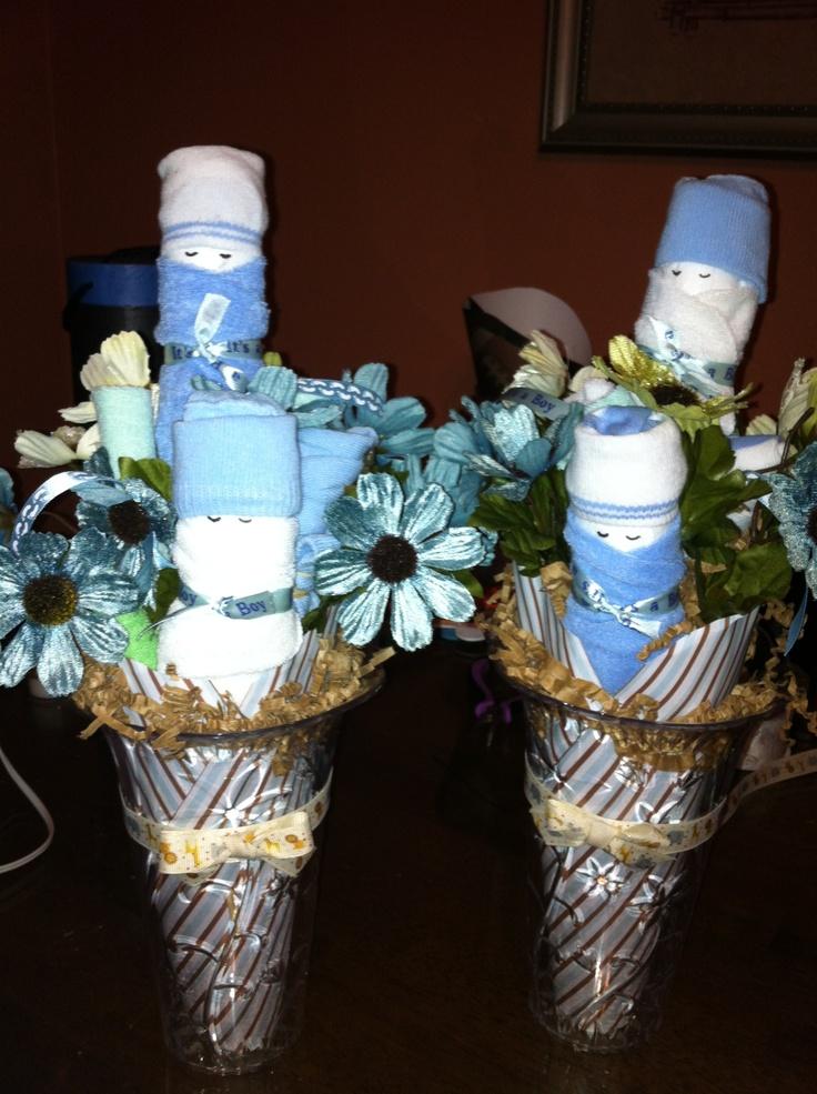 Diaper Baby Sock Bouquet