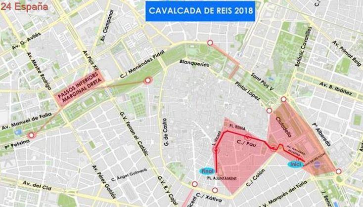 Un centenar de agentes de la Policía Nacional blindará la seguridad en la Cabalgata de Reyes de Valencia